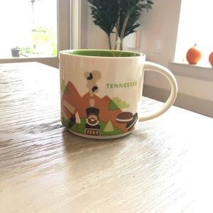 Starbucks you are here collection mug